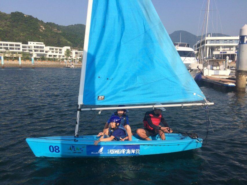 沃亚游学海洋营青少年帆船 皮划艇营
